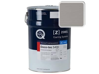 Лак фасадный ZOBEL Deco-tec 5400/5420, Grau 7.40 шелковисто-матовый, 1л Изображение