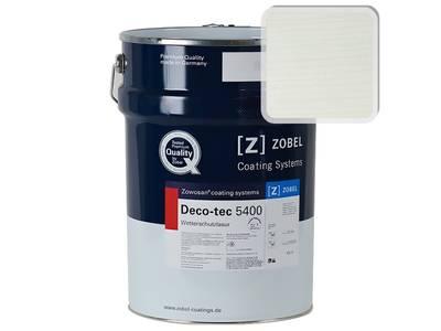 Лак фасадный ZOBEL Deco-tec 5400/5420, Grau 7.50 шелковисто-матовый, 1л Изображение