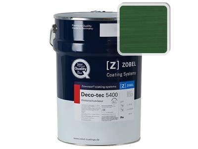 Лак фасадный ZOBEL Deco-tec 5400/5420, Grun 6.01 шелковисто-матовый, 1л Изображение