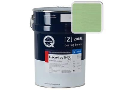 Лак фасадный ZOBEL Deco-tec 5400/5420, Grun 6.19 шелковисто-матовый, 1л Изображение