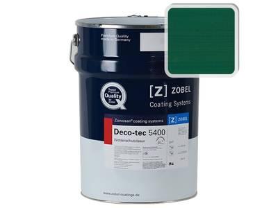 Лак фасадный ZOBEL Deco-tec 5400/5420, Grun 6.29 шелковисто-матовый, 1л Изображение