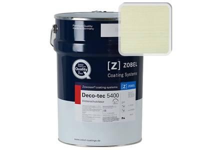 Лак фасадный ZOBEL Deco-tec 5400/5420, Grun 6.40 шелковисто-матовый, 1л Изображение
