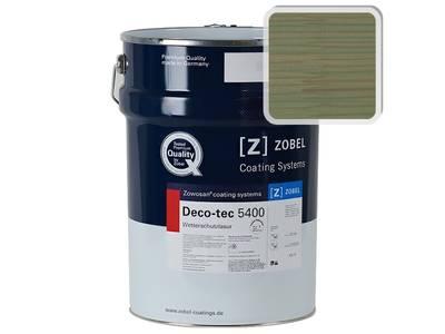 Лак фасадный ZOBEL Deco-tec 5400/5420, Grun 6.41 шелковисто-матовый, 1л Изображение