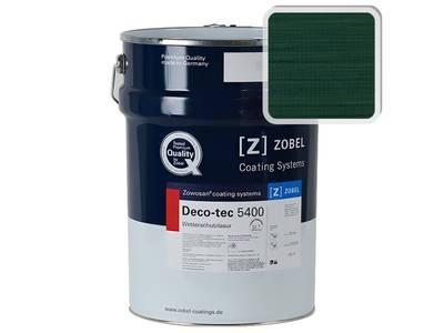 Лак фасадный ZOBEL Deco-tec 5400/5420, Grun 6.44 шелковисто-матовый, 1л Изображение