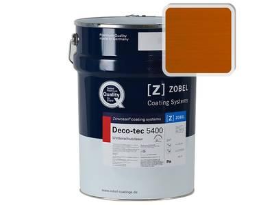 Лак фасадный ZOBEL Deco-tec 5400/5420, K7g orange шелковисто-матовый, 1л Изображение