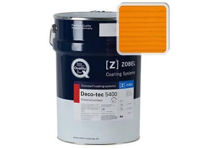 Лак фасадный ZOBEL Deco-tec 5400/5420, Orange 2.11 шелковисто-матовый, 1л Изображение