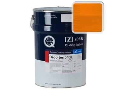 Лак фасадный ZOBEL Deco-tec 5400/5420, Orange 2.00 шелковисто-матовый, 1л Изображение