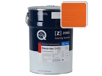 Лак фасадный ZOBEL Deco-tec 5400/5420, Orange 2.10 шелковисто-матовый, 1л Изображение