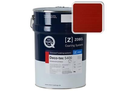 Лак фасадный ZOBEL Deco-tec 5400/5420, Rot 3.00 шелковисто-матовый, 1л Изображение
