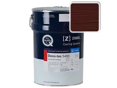 Лак фасадный ZOBEL Deco-tec 5400/5420, Rot 3.05 шелковисто-матовый, 1л Изображение