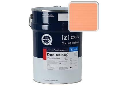 Лак фасадный ZOBEL Deco-tec 5400/5420, Rot 3.14 шелковисто-матовый, 1л Изображение