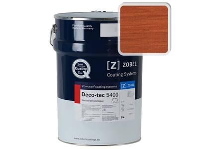 Лак фасадный ZOBEL Deco-tec 5400/5420, Rot 3.41 шелковисто-матовый, 1л Изображение