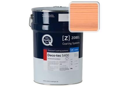 """Лак фасадный ZOBEL Deco-tec 5400/5420 """"Персик"""" шелковисто-матовый, 1 л Изображение"""