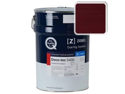 Лак фасадный ZOBEL Deco-tec 5400/5420, Violett 4.04 шелковисто-матовый, 1л Изображение