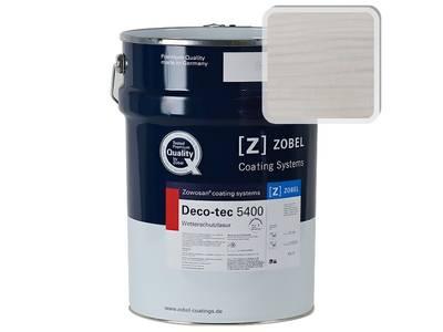 """Лак фасадный ZOBEL Deco-tec 5400/5420 """" Weiss белый 0.10"""" шелковисто-матовый, 1л Изображение"""