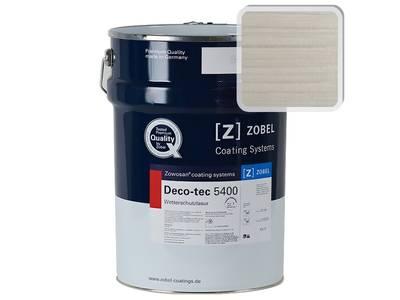 """Лак фасадный ZOBEL Deco-tec 5400/5420 """" Weiss белый 0.20"""" шелковисто-матовый, 1 л Изображение"""