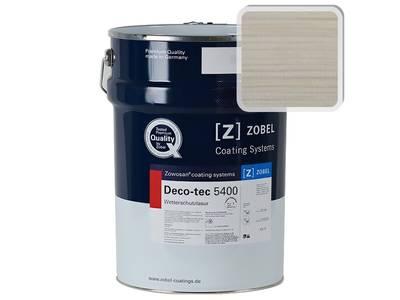 Лак фасадный ZOBEL Deco-tec 5400/5420, Weiss 0.20 шелковисто-матовый, 1л Изображение