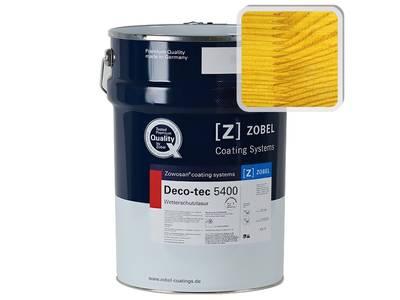 Лак фасадный ZOBEL Deco-tec 5400/5420 altkiefe, шелковисто-матовый, 1л Изображение