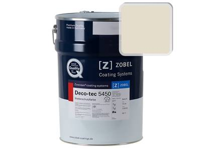 Краска для дерева акриловая ZOBEL Deco-tec 5450A RAL 1013 шелковисто-матовая, 1 л Изображение