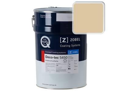 Краска для дерева акриловая ZOBEL Deco-tec 5450A RAL 1014 шелковисто-матовая, 1 л Изображение