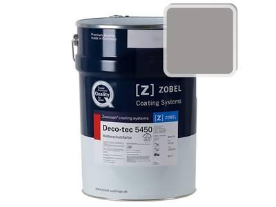 Краска для дерева акриловая ZOBEL Deco-tec 5450A RAL 7036 шелковисто-матовая, 1 л Изображение