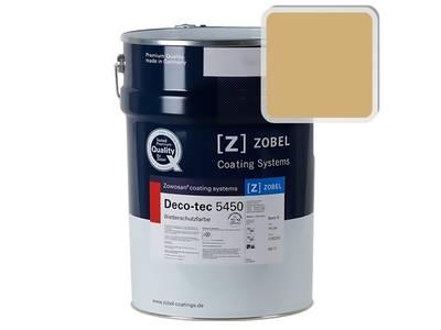 Краска для дерева акриловая ZOBEL Deco-tec 5450B RAL 1002 шелковисто-матовая, 1 л Изображение