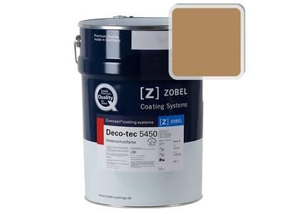 Краска для дерева акриловая ZOBEL Deco-tec 5450B RAL 1011 шелковисто-матовая, 1 л Изображение