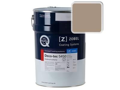 Краска для дерева акриловая ZOBEL Deco-tec 5450B RAL 1019 шелковисто-матовая, 1 л Изображение