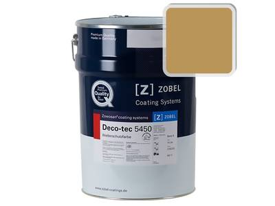 Краска для дерева ZOBEL 5450B RAL 1024, 1л Изображение