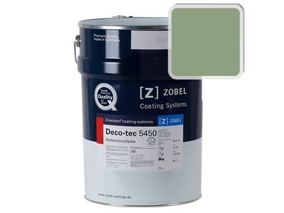 Краска для дерева ZOBEL 5450B RAL 6021, 1 л Изображение