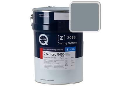 Краска для дерева ZOBEL 5450B RAL 7000, 1 л Изображение