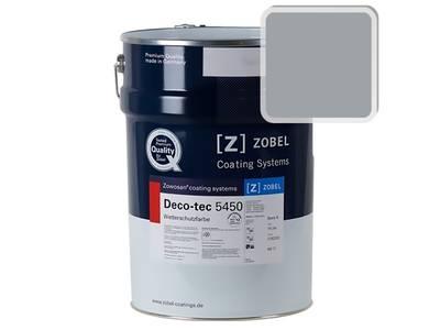 Краска для дерева акриловая ZOBEL Deco-tec 5450B RAL 7040 шелковисто-матовая, 1 л Изображение