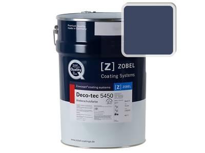 Краска для дерева акриловая ZOBEL Deco-tec 5450C RAL 5013 шелковисто-матовая, 1 л Изображение