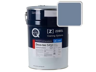 Краска для дерева акриловая ZOBEL Deco-tec 5450C RAL 5014 шелковисто-матовая, 1 л Изображение