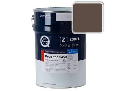 Краска для дерева ZOBEL 5450C RAL 8028, 1 л Изображение