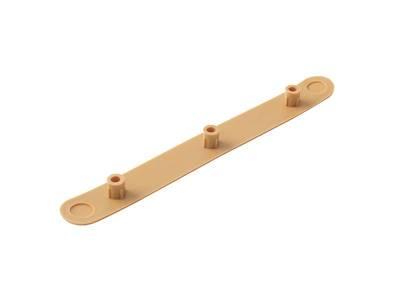 Заглушка декоративная для врезных петель SIMONSWERK, пластик, цвет коричнево-бежевый RAL 1011 Изображение 4