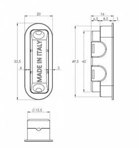 Замок магнитный STV WC, ширина штульпа 18 мм, универсальный, с ответной планкой W7 и винтами, латунь матовая Изображение 2