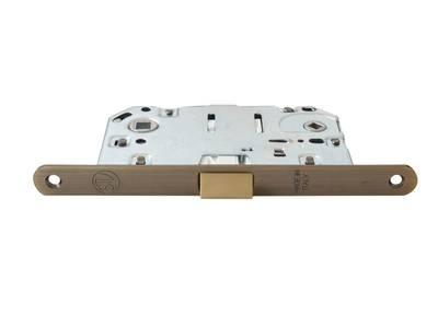 Замок механический WC 50x8x96x6 ширина штульпа 18 мм, универсальный, c винтами, бронза Изображение 9