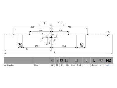 Многозапорный замок Maco G-TS с 4V-цапф. с прив. от ручки (PZ/28/16/92/8 мм) Изображение 2
