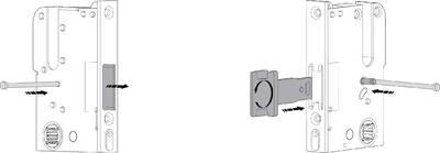 [ПОД ЗАКАЗ] Многозапорный замок ROTO С500 с 2 крюками с приводом от профильного цилиндра (55/20/92/8 мм) [2200-2400 мм] Изображение 2