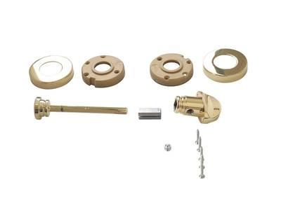 Завертка для сантехнических узлов, STV, круглая, латунь полированная Изображение 2
