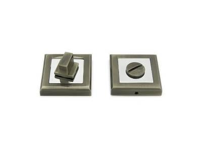 Завертка сантехническая, квадрат, античная бронза Изображение